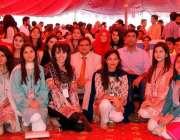 لاہور: شیخ خلیفہ بن زایدالنہیان میڈیکل اینڈ ڈینٹل کالج میں پہلے انٹر ..