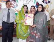 قصور: ڈپٹی کمشنر عمارہ خان ماں اور بچے کی بہتر صحت سے متعلق نیوٹریشن ..