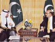 اسلام آباد: صدر آزاد کشمیر سردار مسعود خان سے سیکرٹری جنرل او آئی سی ..