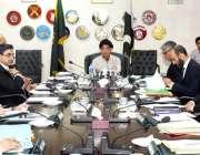 اسلام آباد: وزیر داخلہ چوہدری نثار علی خان اعلیٰ سطحی اجلاس کی صدارت ..