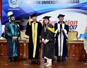 اسلام آباد: ریکٹر فاؤنڈیشن یونیورسٹی میجر جنرل (ر) خادم حسین بزنس اینڈ ..
