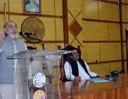 کوئٹہ: میٹرو پولیٹن کارپوریشن کے میئر ڈاکٹر کلیم اللہ کاکڑ بجٹ پاس ..