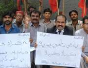 حیدر آباد: عوامی تحریک کی طرف سے اپنے مطالبات کے سلسلے میں احتجاجی مظاہرہ ..