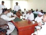 قصور: ترجمان پنجاب حکومت محمد احمد خان ضلع کونسل کے دفتر میں عوامی مسائل ..