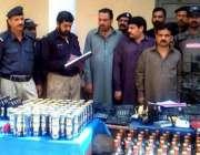 راولپنڈی: تھانہ وارث خان کی حدود میں سرچ آپریشن کے دوران پکڑے جانے والا ..