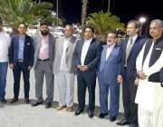 لاہور: وائس چیئرپرسن اورسیز پاکستانیز کمیشن پنجاب ، شاہین خالد بٹ اور ..