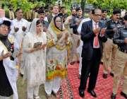راولپنڈی: یوم پولیس شہداء کے موقع پر ڈسٹرکٹ سیشن جج سہیل ناصر، آر پی ..