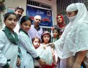 راولپنڈی: آرمی پبلک سکول ڈی ایچ اے کے سٹوڈنٹس کے زیر اہتمام مستحقین ..