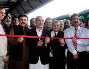 راولپنڈی: وفاقی وزیر ریلوے اسٹیشن صدر میں نئی تیار کی جانیوالی ٹرین ..