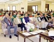 لاہور: صوبائی وزیر سکولز ایجوکیشن رانا مشہود احمد خاں مقامی ہوٹل میں ..
