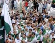راولپنڈی انجمن تاجران راجہ بازار کے جنرل سیکرٹری شخ ندیم و دیگر جشن ..