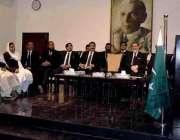 کراچی: گورنر سندھ محمد زبیر کراچی بار ایسوسی ایشن کے زیر اہتمام تقریب ..