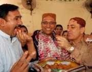 کراچی: پاکستان پیپلز پارٹی سینیٹر سعید غنی کو منارٹی ونگ سندھ کے صدر ..