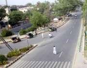 لاہور: صوبائی دارالحکومت میں شدید گرمی کے باعث کینال روڈ پر ٹریفک نہ ..