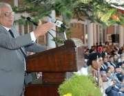 پشاور: گورنر خیبر پختونخوا اقبال ظفر جھگڑا گریژن کالج کوہاٹ میں تقریب ..