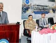 اسلام آباد: وفاقی وزیر سیفران لیفٹیننٹ جنرل (ر) عبددالقادر بلوچ پناہ ..