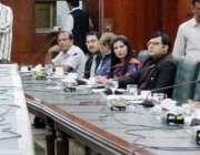 لاہور: صوبائی وزیر سکولز ایجوکیشن رانا مشہود احمد خان جشن آزادی کی ..