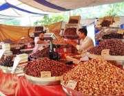 اسلام آباد: رمضان المبار ک کے پیش نظر سستے رمضان بازار میں لگائے گئے ..
