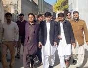 پشاور: اسسٹنٹ ڈائریکٹر لوکل گورنمنٹ ارشاد خان عباسی و دیگر خیبر پختونخوا ..