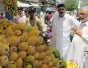 کوٹلی: ڈپٹی کمشنر راجہ راشد محمود رمضان بازار میں اشیاء کی قیمتوں اور ..