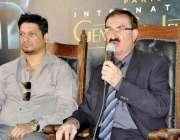 کراچی: کراچی پریس کلب میں پاکستان انٹر نیشنل گیم اینڈ جیولریز کے سی ..
