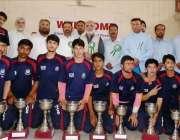 پشاور: انٹر پبلک سکولز سپورٹس فیسٹیول میں فاتح کھلاڑیوں کا مہمان خصوصی ..