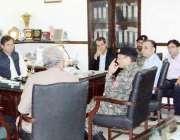 لاہور: کمشنر لاہور ڈویژن عبداللہ خان سبنل مال روڈ کی تزئین و آرائش کے ..