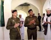 سرگودھا: آر پی او ڈاکٹر محمد اختر عباسی ڈی پی او آفس میانوالی کی تزئین ..