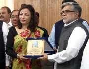 پشاور: سرحد چیمبر آف کامرس اینڈ انڈسٹری کے صدر حاجی افضل نیپال کی سفیر ..