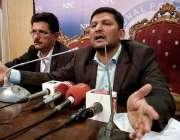 اسلام آباد: ایسوسی ایشن آف بلڈر اینڈ ڈیولپرز کے چیئرمین محسن شیخانی ..
