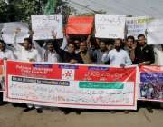 لاہور: پاکستان مینارٹیز یونٹی کونسل کے زیر اہتمام اپنے مطالبات کے حق ..
