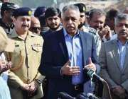 کراچی: گورنر سندھ محمد زبیر شہر میں وفاق کے تعاون سے جاری ترقیاتی منصوبوں ..