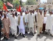 کوئٹہ: اتحاد میٹرو پولیٹن کارپوریشن یونین کے زیر اہتمام مطالبات کے ..
