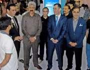راولپنڈی: وفاقی وزیر برائے سرحدی امور عبدالقادر بلوچ، تاجکستان کے ..