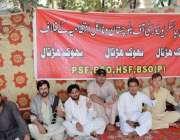 کوئٹہ: طلبہ تنظیموں کے زیراہتمام مطالبات کے حق میں طلبہ احتجاجی کیمپ ..