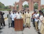 فیصل آباد: زرعی یونیورسٹی انتظامیہ کی جانب سے نکالے جانے والے طلبہ ..