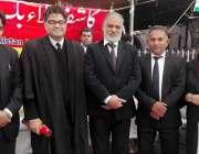 لاہور: ہیومن رائٹس کمیٹی لاہور ہائیکورٹ بارے کے چیئرمین میاں اشرف عاصمی ..