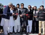 کوہاٹ: چیئرمین پی ٹی آئی عمران خان نو تعمیر شدہ پولیس ٹریفک مینجمنٹ ..