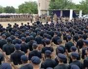 کراچی: کور کمانڈر کراچی لیفٹیننٹ جنرل شاہد بیگ ملیر گریژن میں پاکستان ..