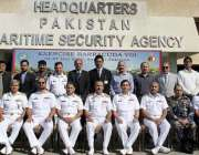کراچی: ڈائریکٹر جنرل پاکستان میری ٹائم سیکورٹی ایجنسی ریئرایڈمرل جمیل ..