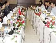 لاہور: وزیر اعلیٰ پنجاب محمد شہباز شریف سے ساہیوال کول پاور پراجیکٹ ..