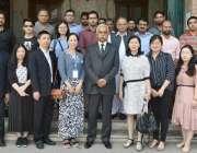 لاہور: چھیندو (چین) سے انٹرنیشنل بزنس کانفرنس 2017ء میں شرکت کرنیوالے ..