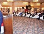 کراچی: گورنر سندھ محمد زبیر آل پاکستان کسٹمز ایجنٹس ایسوسی ایشن کی ..