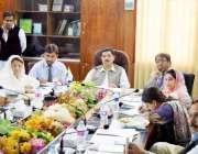 کراچی: چیئرمین قائمہ کمیٹی برائے منصوبہ بندی عبدالمجید خان داؤد یونیورسٹی ..