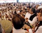 اسلام آباد: وزیر مملکت کیڈ ڈاکٹر طارق فضل چوہدری ورکرز یونین سے خطاب ..