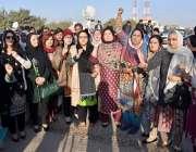 اسلام آباد: سابق وزیراعظم نوازشریف کی احتساب عدالت پیشی کے موقع پر ..