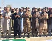کوئٹہ: وزیر اعلیٰ بلوچستان، کمانڈر سدرن کمانڈ، صوبائی وزراء اراکین ..