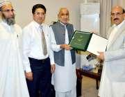 مظفر آباد: صدر آزاد کشمیر سردار مسعود خان کو محتسب اعلیٰ آزاد کشمیر ..