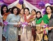 راولپنڈی: گورنمنٹ کالج ایف بلاک میں ڈاکٹر سائرہ مفتی فن فیئر کا افتتاح ..