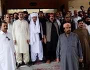 کوئٹہ: مسلم لیگ (ن) کے سینیٹر میر نعمت اللہ زہری کا سردار محمد علی جتک ..
